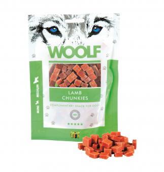 WOOLF Lamm Chunkies 100 gr. für Hunde und Katzen