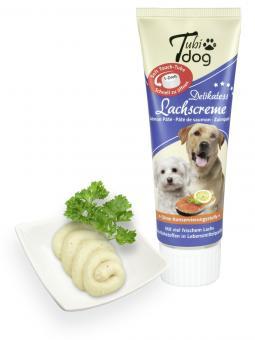 Tubi Dog Lachscreme Tube