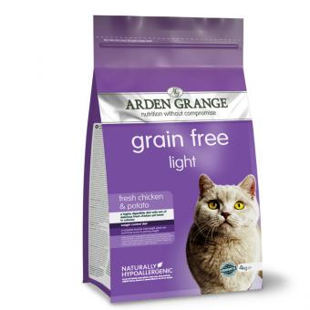 Arden Grange Katze Light/Senior mit viel frischem Huhn, getreidefrei 2 kg