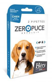 Hery Zero Puce für Hunde von 10 - 25kg