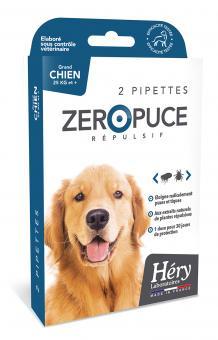 Hery Zero Puce für Hunde über 25 kg