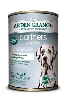 Arden Grange Partners Sensitive mit Weißfisch & Kartoffeln