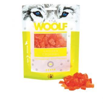 WOOLF Hühnchen Chunkies 100 gr. für Hunde und Katzen