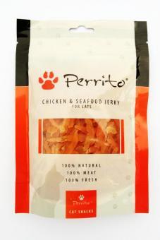 Aktion_Restposten Perrito Hühnchen-Meeresfrüchte für kleine Hunde & Katzen 100 gr.