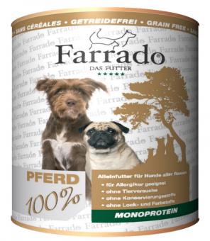 FARRADO Mono Reinfleischdose - 100% Pferd pur 800 gr.