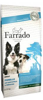 FARRADO Forelle mit Kartoffeln & Früchten, getreidefrei 4 kg