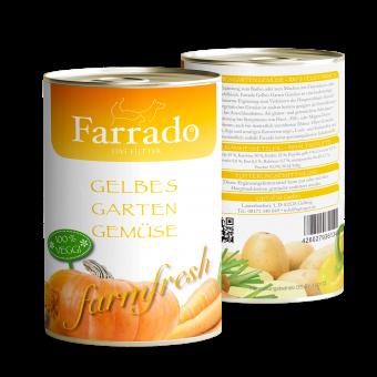 Farrado Dose Gelbes Gartengemüse 410g