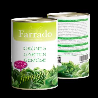 Farrado Dose Grünes Gartengemüse 410g