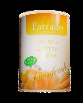 FARRADO Gelbes Gartengemüse erntefrisch 410 gr. Dose