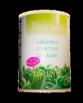 FARRADO Grünes Gartengemüse erntefrisch 410 gr. Dose