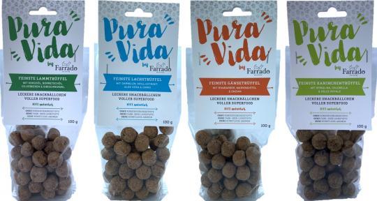 """FARRADO """"Pura Vida"""" Superfood - Leckere Snackbällchen 100% natürlich"""
