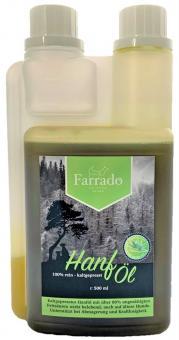 Farrado Hanföl - 100% rein kaltgepresst