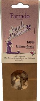 Snack al Naturale 100 % Hühnerbrust gefriergetrocknet 30 gr.