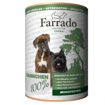 FARRADO Mono Reinfleischdose - 100% Kaninchen