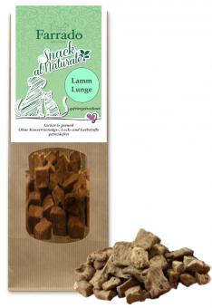 FARRADO Snack al Naturale 100 % Lammlunge gefriergetrocknet