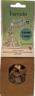 Snack al Naturale 100 % Lammlunge gefriergetrocknet 30 gr.