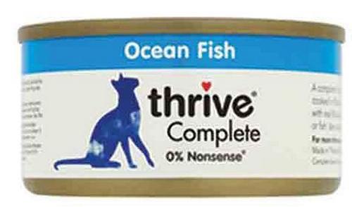THRIVE Katzen Nassfutter 75 gr Dose Ozeanfisch