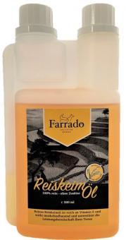 Farrado Reiskeimöl - 100% rein ohne Zusätze