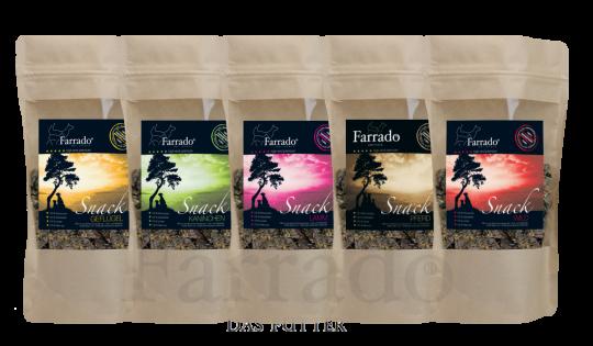 FARRADO Snack Würfelhappen 200gr. - 100% Getreidefrei