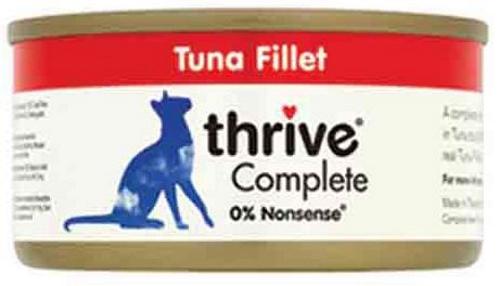 THRIVE Katzen Nassfutter 75 gr Dose Thunfischfilet