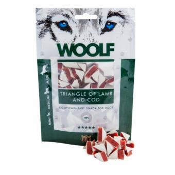 WOOLF Lamm Sandwichecken 100 gr. für Hunde und Katzen
