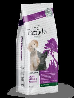 FARRADO Puppy Junior Lachs, Hering & Forelle, getreidefrei 2 x 12 kg Sonderpreis 5%