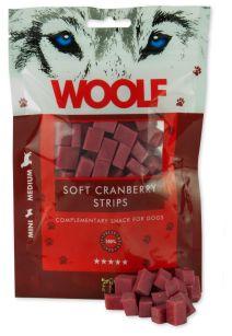 WOOLF Cranberry (Moosbeere) Streifen 100g