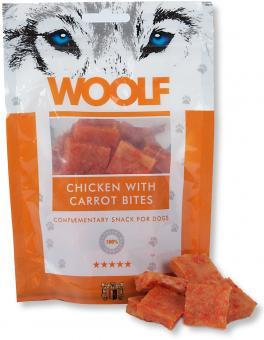 WOOLF Hühnchenwürfel mit Karotte 100 gr.